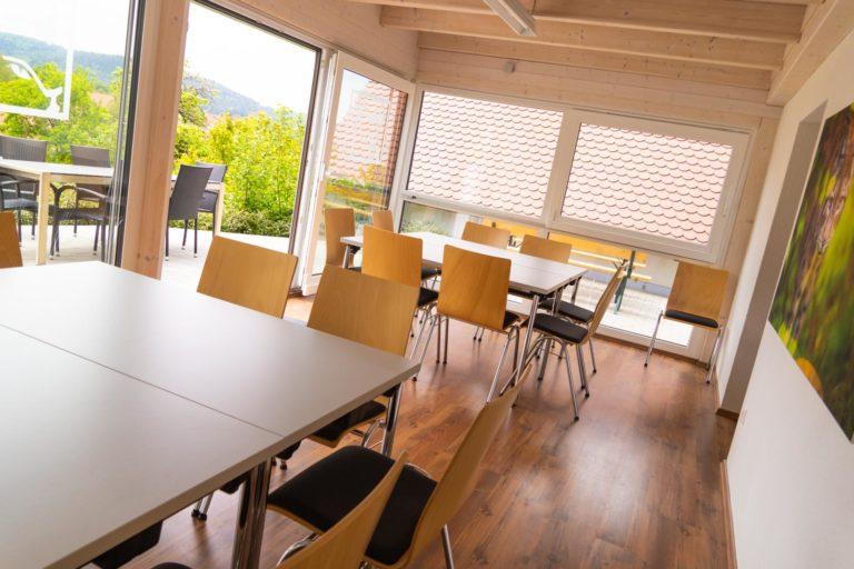 Hörluchs® Campus Wintergarten mit Terassee